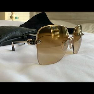 CHROME HEARTS SUNGLASSES SHAVED